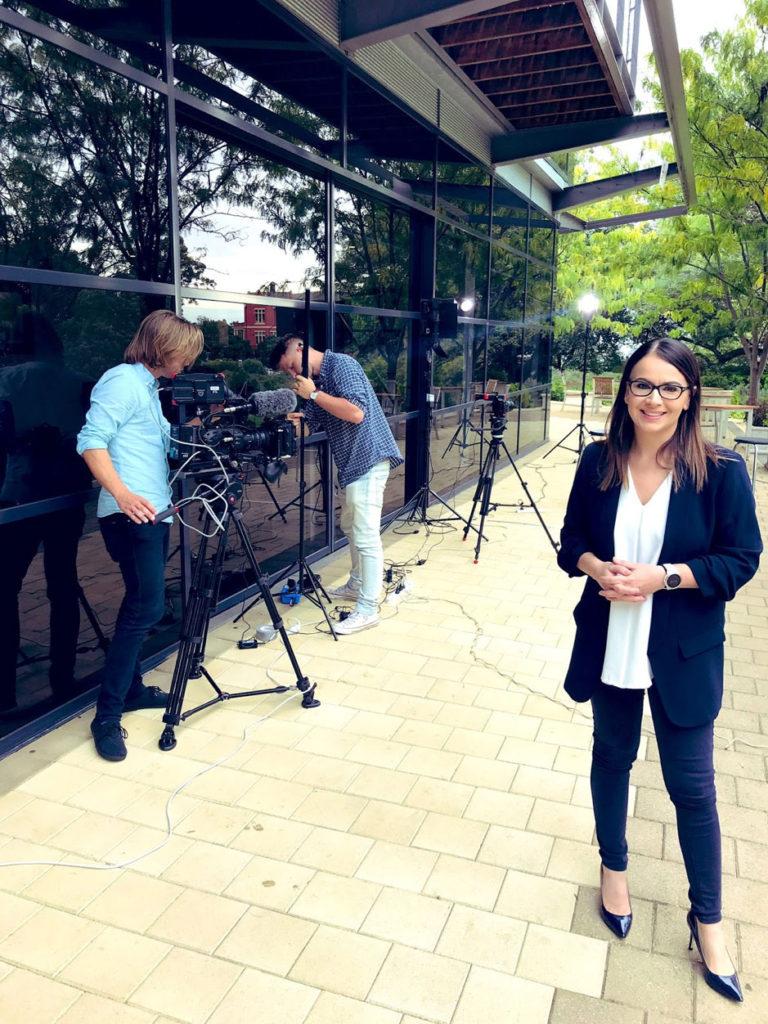 Industry Leader Rebecca De Cicco tells her career story on Foxtel